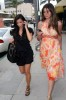 Kim Kardashian picture with Brittny Gastineau visiting the salon in Beverly Hills on August 3rd 2009 2