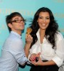 Kim Kardashian picture attending the Christian Siriano VS Makeup Launch Event on August 5th 2009 5