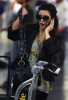 Kim Kardashian picture at LAX airport arriving home from Africa on July 19th 2009 2