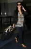 Kim Kardashian picture at LAX airport arriving home from Africa on July 19th 2009 4