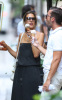 Alessandra Ambrosio spotted eating chocolate chip ice cream cone while out in New York City on August 10th 2009 5