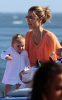 Alessandra Ambrosio picture with her baby daughter Anja Louise at the Malibu beach on July 16th 2009 6