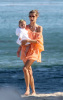 Alessandra Ambrosio picture with her baby daughter Anja Louise at the Malibu beach on July 16th 2009 5