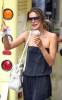 Alessandra Ambrosio spotted eating chocolate chip ice cream cone while out in New York City on August 10th 2009 3
