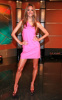 Alessandra Ambrosio appears at Good Day New York wearing a sweet mini pink dress in FOX Studios on August 11th 2009 5