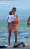 Alessandra Ambrosio picture with her baby daughter Anja Louise at the Malibu beach on July 16th 2009 4