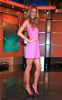 Alessandra Ambrosio appears at Good Day New York wearing a sweet mini pink dress in FOX Studios on August 11th 2009 4