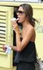 Alessandra Ambrosio spotted eating chocolate chip ice cream cone while out in New York City on August 10th 2009 1