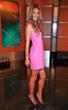 Alessandra Ambrosio appears at Good Day New York wearing a sweet mini pink dress in FOX Studios on August 11th 2009 6