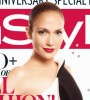 Jennifer Lopez on the cover of InStyle magazine for September 2009 issue