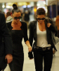 Victoria Beckham spotted with Kara DioGuardi as they arrive At LAX airport August 2009 4
