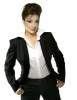 Darine Hadchiti photo in a black suit 23