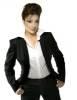Darine Hadchiti photo in a black suit 23