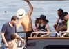 Madonna and Jesus Luz spotted on a boat in the sea on August 17th 2009 12