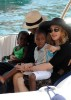 pictures of Jesus Luz with Madonna and her children Mercy and David as they had a lovely cruise on a boat in Portofino Italy on Monday August 17th 2009 12