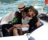 pictures of Jesus Luz with Madonna and her children Mercy and David as they had a lovely cruise on a boat in Portofino Italy on Monday August 17th 2009 9
