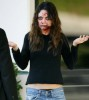 Mila Kunis dressed as a zombie during a film shoot on January 13th 2009 in Irwindale California 1