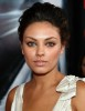 Mila Kunis on the red carpet at the Max Payne premiere held at Manns Chinese Theater on Monday in Los Angeles on October 13th 2008 3