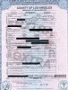 Michael Jackson official Death certificate scanned image
