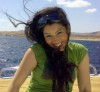 Ayten Amer at the beach