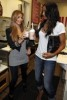 kim kardashian picturer with Ciara on August 29th 2009 6