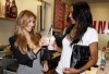 kim kardashian picturer with Ciara on August 29th 2009 3