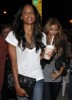 kim kardashian picturer with Ciara on August 29th 2009 2