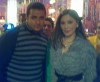 Elissa picture taken during a TV interview where she took the time to have some fans take photos with her in August 2009 5