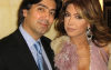 Nawal Zoghbi with her ex husband