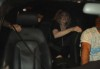 Madonna picture with Jesus Luz inside the car leaving after having dinner with israeli politician Tzipi Livni at Stefan Brown restaurant in Tel Aviv on August 31st 2009 4