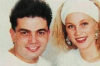 Amr Diab photo with his ex wife 2