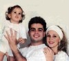 Amr Diab photo with his ex wife and their daughter Nour Amr Diab