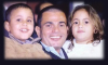 Amr Diab photo with his daughter and son