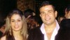 Amr Diab photo with his wife zaina at a public party