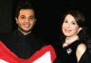 Nishan Deirharoutinian with singer Majida Roumi