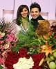 Nishan Deirharoutinian with Elissa