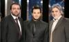 Nishan Deirharoutinian with Abas Nouri and Samer Masri