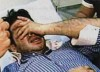 Nishan Deirharoutinian photo as he enters the hospital after the injury 2