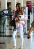 Alessandra Ambrosio spotted with Ajna at LAX airport on September 7th 2009 8