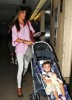 Alessandra Ambrosio spotted with Ajna at LAX airport on September 7th 2009 4