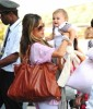 Alessandra Ambrosio spotted with Ajna at LAX airport on September 7th 2009 1