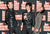 Green Day pose in the pressroom during the 2009 MTV Video Music Awards at Radio City Music Hall on September 13th 2009 in New York City