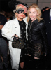 Madonna picture with Lady Gaga at the fashion show of Marc Jacobs during the fashion week in New York on September 14th 2009 2