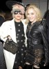 Madonna picture with Lady Gaga at the fashion show of Marc Jacobs during the fashion week in New York on September 14th 2009 1