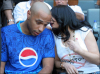 Haifa Wahbi photo with famous football athlete Thierry Henry 1
