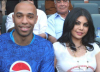 Haifa Wahbi photo with famous football athlete Thierry Henry 3