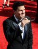 David Boreanaz arrives at the 61st Primetime Emmy Awards held at the Nokia Theatre on September 20th 2009 in Los Angeles
