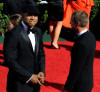 LL Cool J and Chris ODonnell arrive at the 61st Primetime Emmy Awards held at the Nokia Theatre on September 20th 2009 in Los Angeles