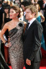 Jennifer Carpenter and husband actor Michael C. Hall arrive at the 61st Primetime Emmy Awards