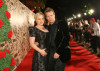 Patricia Arquette and Thomas Jane arrive at the 61st Primetime Emmy Awards held at the Nokia Theatre on September 20th 2009 in Los Angeles